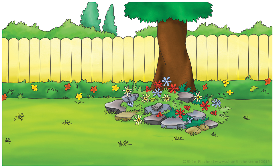 Caillou's Backyard.