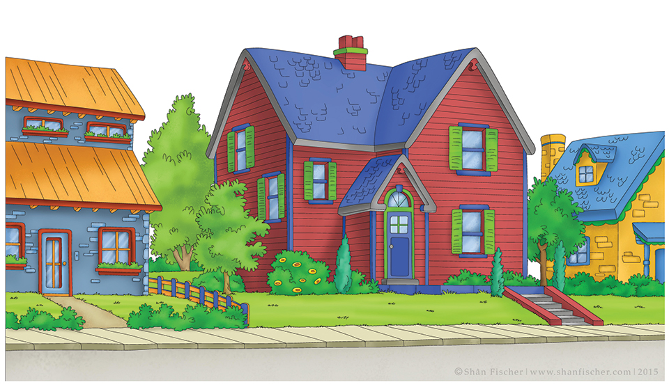 Caillou's House.