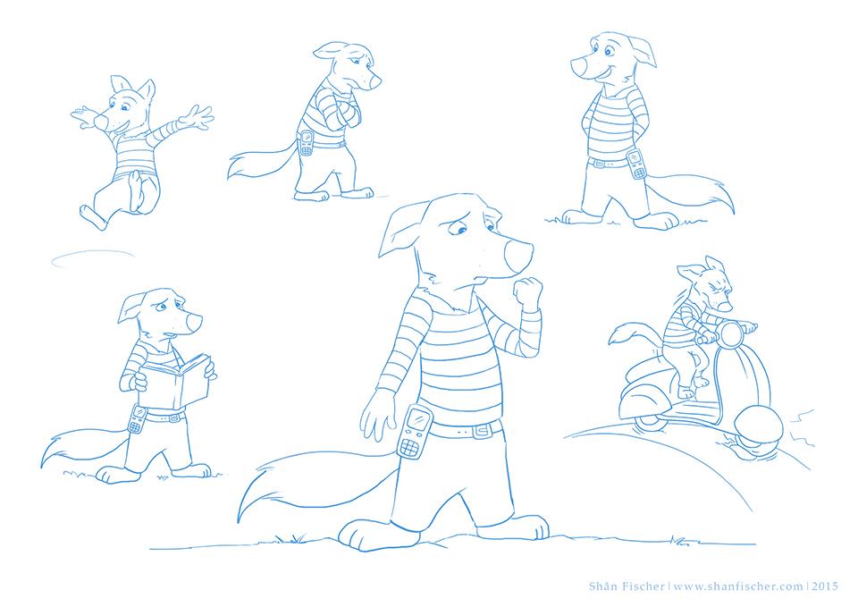 Dingo Doug Character.