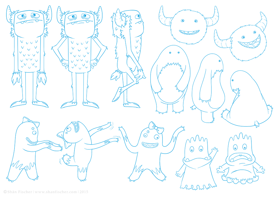 Monster Characters.