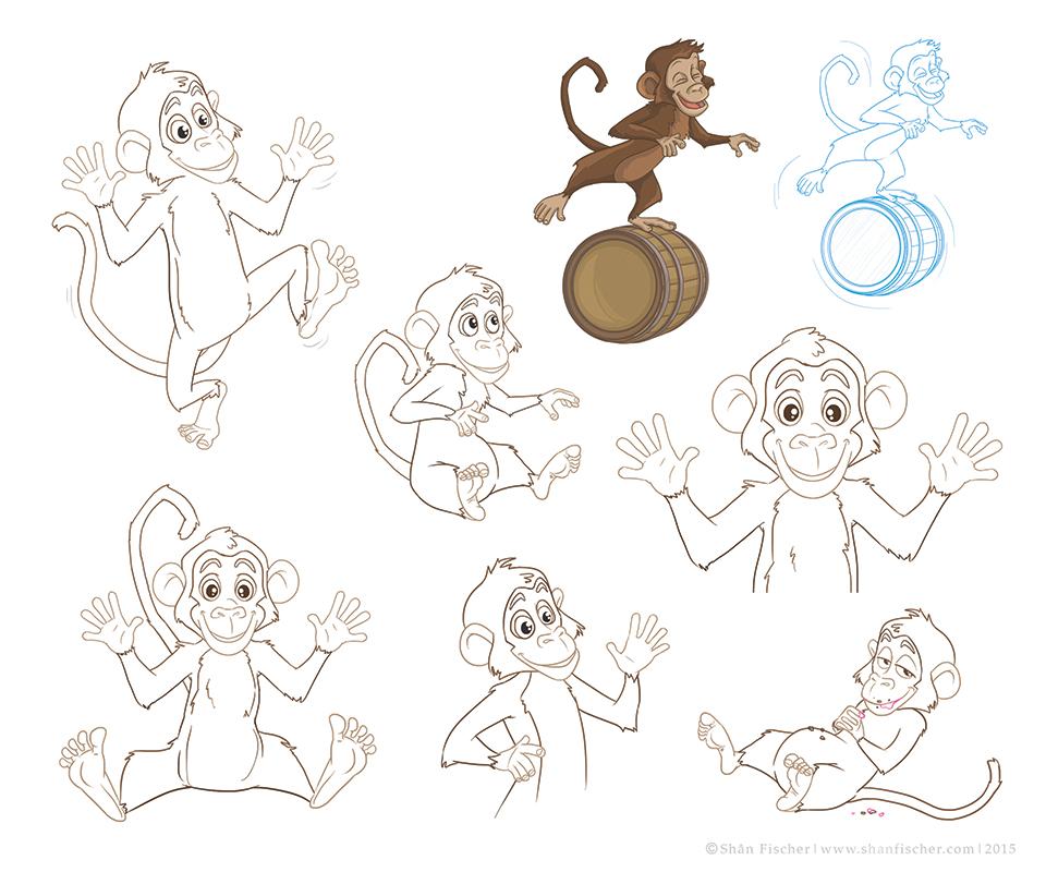 Wielie Walie Monkey.