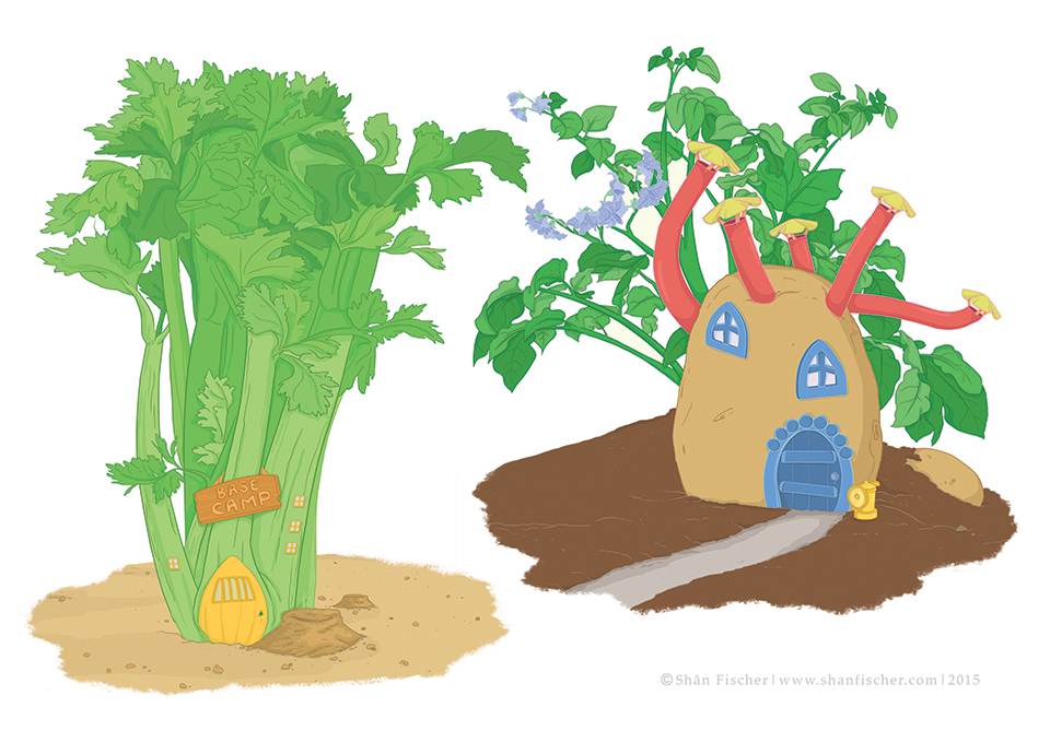 Vegetable Homes.